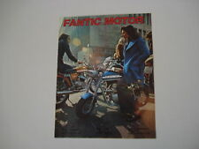 advertising Pubblicità 1973 MOTO FANTIC TI - TX-7