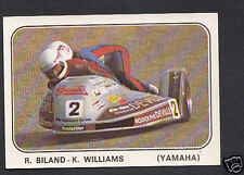 Panini Sticker -  Moto Sport 1979 Sticker No 150 - R.Biland.K.Williams - Yamaha