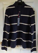 M&S Blue Harbour Men Pure Cotton T-Shirt - Blue Mix, Size M, BNWT, was £29.50
