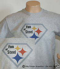 Fan of Steel Pittsburgh T-Shirt 4 Steelers Fan Any Size