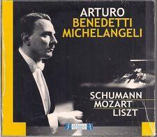 CD Arturo Benedetti Michelangeli 'piano concerts' Nouveau Schumann, Mozart, Liszt