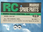 BRAND NEW MARUI WHEEL HUB SET for THE SAMURAI 4WD Part No:120 Made in JAPAN