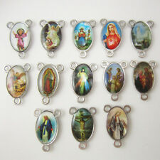 200 Assorted Heart Shaped and 400 Sacred Heart Holy Family Rosary Centerpieces