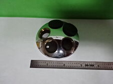 MICROSCOPE PART DIALUX LEITZ GERMANY NOSEPIECE AS IS #AS-57