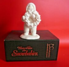 Winter Tales Snowbabies Figurine - Holly Wreath Boxed