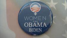 2008 BARACK OBAMA POLITICAL PRESIDENTIAL WOMEN FOR OBAMA BIDEN PIN