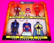 Justice League Unlimited Action Figure 6-pack THE LEAGUE UNITED Superman Hourman