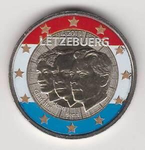 A -- 2011 - 2 EURO C0ULEUR --- LUXEMBOURG / JEAN LIEUTENANT-REPRESENTANT