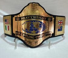WWF HULK HOGAN 86 WORLD HEAVYWEIGHT WRESTLING CHAMPIONSHIP BELT ADULT SIZE