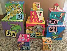 Scholastic The Magic School Bus Building Block Set Of 10 Blocks