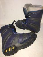 Vans Jamie Lynn Pro Model Snowboard Boots Mens Sz 8 26.0 40.5 EU Blue