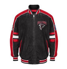 Atlanta FALCONS NFL Officially Licensed Suede Varsity Jacket ~ XXL