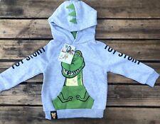 Disney Toy Story 4 Dino Kids Jumper Hoodie UK Size Age 4-5 Years