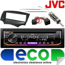 Ford KA MK2 JVC BLUETOOTH CD MP3 USB Aux In Ipod Car Radio Stereo & Fitting Kit