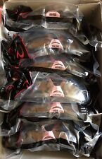 12 pack/ Pink Frame Dual Comfort High Performance Protective Safety Glasses