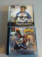 CRASH BANDICOOT 3 + FIFA FOOTBALL 2002 pal ps1 PlayStation ps one