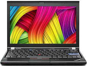 """Lenovo ThinkPad X220 i5 2,5GHz 2Gb 250Gb 12,5"""" 1366x768 Camera Win7 4291-FY7 B"""