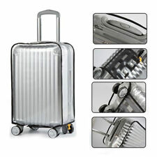 "Anti Scratches Transparent Luggage Protector Suitcase Cover 20"" 26 28 inch Clear"