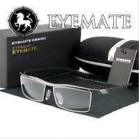 EYEMATE 2018 Reading Glasses Clear Lens UV400 Computer Protection