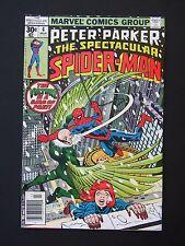 Spectacular Spider-man #4  VF 1977  High Grade Marvel Comic