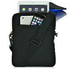 "Turtleback Apple iPad Pouch Carry Case -Fits Devices up to 10.5"" in.- Black/Blue"