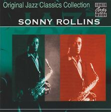 CD album sonny rollins Original Jazz Classics Collection 90`s zyx