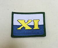 11 Signal Brigade TRF, Flash, Royal Signals, Army, Military, Badge, Patch,