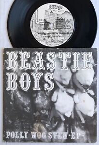 """BEASTIE BOYS Polly Wog Stew EP 1982 ORG Rat Cage Records 7"""" MOTR 21 PUNK 45"""