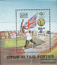 Guinea-Bissau block261 (complete.issue.) unmounted mint / never hinged 1984 Winn