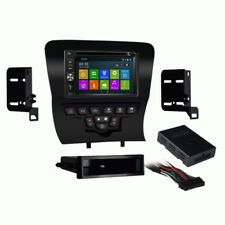 DVD GPS Navigation Multimedia Radio and Dash Kit for Dodge Charger 2011 - 2014