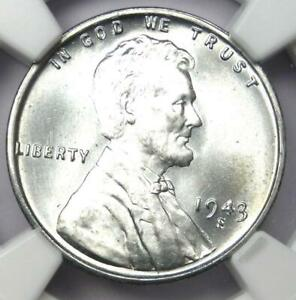 1943-S Lincoln Wheat Cent Steel Penny 1C - Certified NGC MS68 - $4,300 Value!