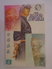 The Blood Sword MA Wing Shing M Baron T Wong #8 Jademan Comics March 1989 NM