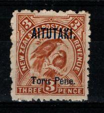 New Zealand Aitutaki 1903 3d Toru Pene SG5 Mint MH