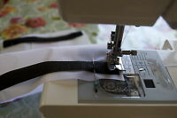 VELCRO® Brand Hook and loop sew on stitch on tape in BLACK 5CM wide