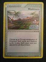 1x Windstorm 85/100 EX Crystal Guardians Reverse Holo Pokemon Card