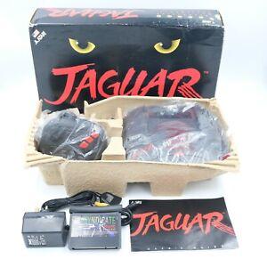 Atari Jaguar Console Complete With Original Box, Controller & Syndicate Game