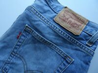 "LEVIS 87506 Mens Jeans Blue Denim Straight Leg SIZE W31 L34 Waist 31"" Leg 34"""