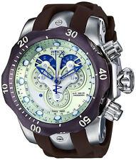Invicta Men's Venom Chrono 1000m Stainless Steel Brown Polyurethane Watch 14461