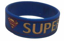 DC Comics SUPERMAN Vintage Logo Silicone Bracelet WRISTBAND