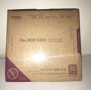 New Antec Neo ECO 620C Continuous Power 620W 80 Plus Desktop Power Supplyn,