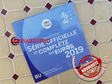 Coffret BU 1 Cent à 2 Euro France 2019 - Coffret Officiel