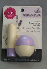 Eos Lip Balm Stick & Sphere duo Lavender Latte French Vanilla Sweet Cream NEW