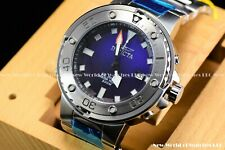 Invicta Men's 49mm Pro Diver Grand Scuba Silve Blue Dial Automatic SS Watch