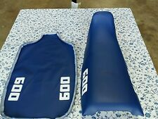 KAWASAKI KL 600 KLR 600 B1 B2 1984-1986 MODEL SEAT COVER BLUE (K5)