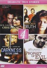 Lifetime Films: True Drama (Dvd) Sex Lies Unspoken Truth Darkness Dawn Evil New