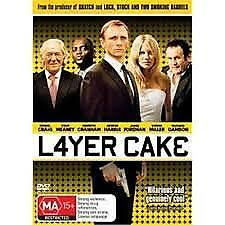 LAYER CAKE (DVD) REGION-4, LIKE NEW, FREE POST WITHIN AUSTRALIA
