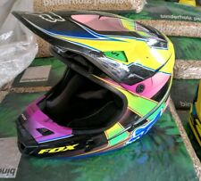 Fox v1 HALYN Motocross Casco 2018-Nero Rosa Motocross Enduro MX CROSS