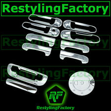 Chrome 4 Door Handle NO PS KH+Tailgate+GAS Cover for 99-04 JEEP GRAND CHEROKEE