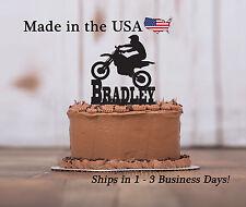 Motor Cross Bike, BMX, Stunt Bike, Birthday Pary, Personalized Keepsake - LT1152