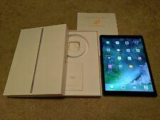 Apple iPad Pro 256GB Wi-Fi + Cellular (Unlocked) 12.9in Gray - Near Mint! 170456